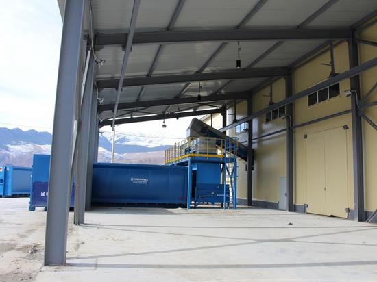 В Дагестане построили мусоросортировочный завод