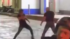 Подольские бои без правил в присутствии полиции попали на видео