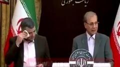 Опубликовано видео иранского замминистра с коронавирусом: потеет, без маски