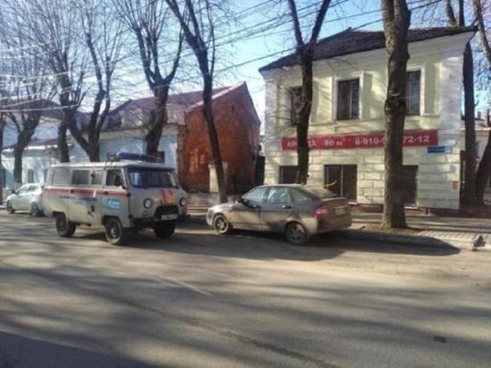 Утечка газа в центре Калуги произошла из припаркованного автомобиля