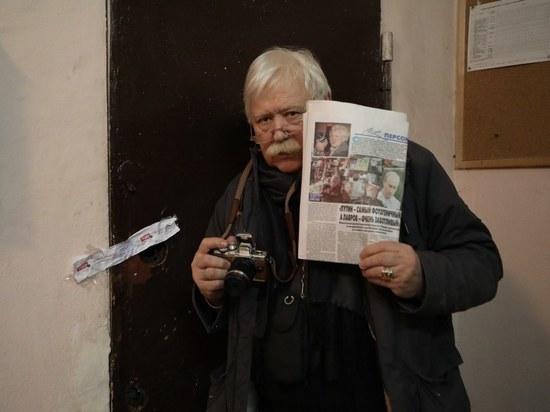 Известного фотографа Сергея Лидова выселили из мастерской, вскрыв двери