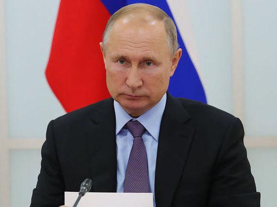 Путин возмутился призывами убивать детей росгвардейцев