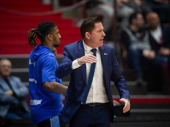 Баскетбольный «Зенит» проиграл первый матч под руководством нового главного тренера