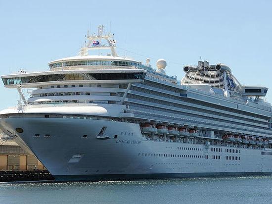 Три российских туриста с лайнера Diamond Princess оказались заражены коронавирусом
