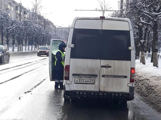 В Чувашии ГИБДД проверяет водителей автобусов