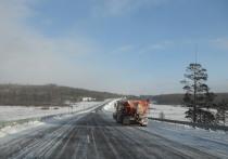 Сложные условия ожидаются на трассах Забайкалья из-за снегопада