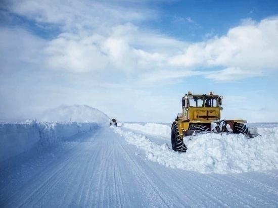 Один из четырех зимников открыли в ЯНАО