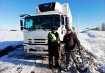 Белгородские полицейские вызволили дальнобойщиков