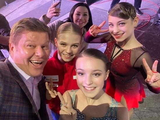 Слезы Косторной и ласточка Губерниева: на шоу Тутберидзе были сюрпризы