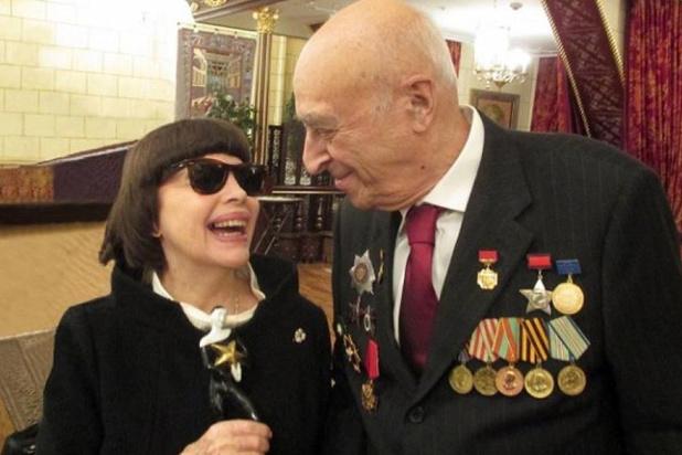 """Вдова Владимира Этуша: """"Он был моей подружкой"""""""