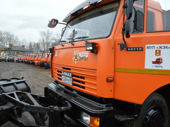 В Твери коммунальщики сэкономили на снеге десятки миллионов рублей