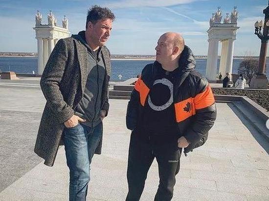 Максим Виторган и Сергей Бурунов документальный сериал в Волгограде