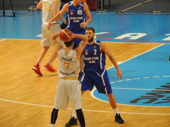 Свердловская команда выиграла первый матч финала Кубка России по баскетболу