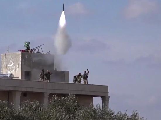 Опубликованы кадры пуска ракеты по российскому Су-24 в Идлибе