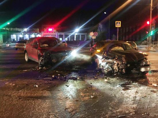 В Северодвинске произошло ДТП, в котором пострадали четыре человека