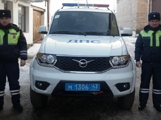 В Уржумском районе автоинспекторы задержали угонщика