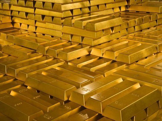 Россия продала Великобритании золото на рекордные 5 млрд долларов