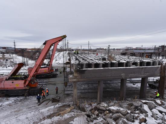 Открытие путепровода в сторону аэропорта состоится в июле