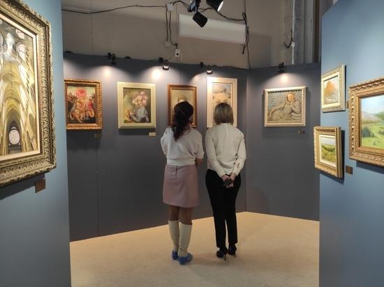 В Пскове оживают полотна художника Никаса Сафронова
