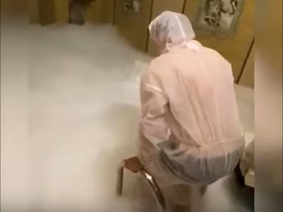 Производитель сухого льда объяснил смерть жителей Москвы в бане