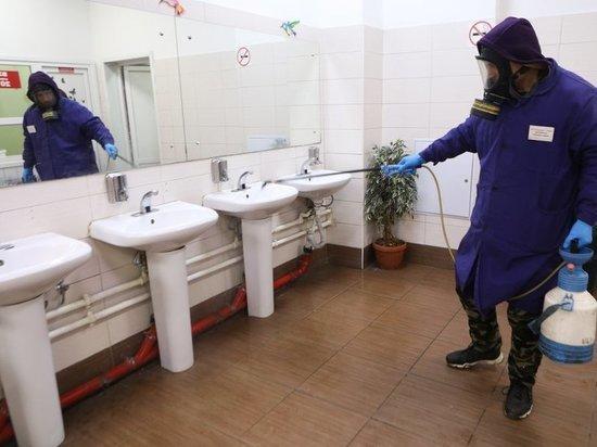 Комнату общежития ВШЭ, где жил потенциальный больной коронавирусом, обеззаразили