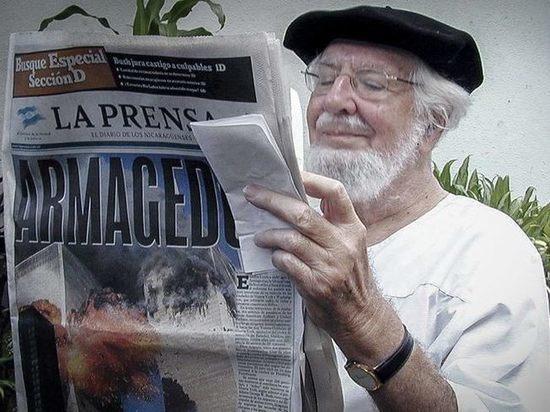Поэт и революционер Эрнесто Карденаль скончался в Никарагуа