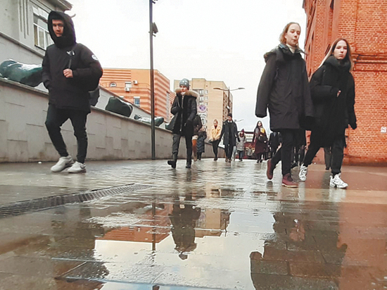 Москвичей предупредили о дожде в понедельник