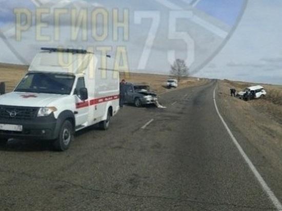 Один погиб и двое пострадали в ДТП в Забайкалье