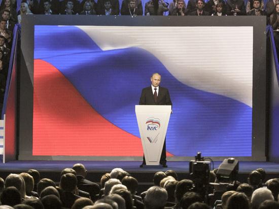 СМИ узнали о планах Путина возглавить списки единороссов