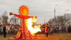 Как в Серпухове сжигали Масленицу