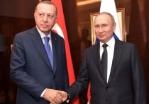 Эрдоган: у Турции нет проблем в Сирии с Россией и Ираном