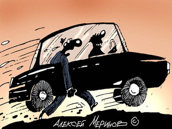 В Саратове бастуют недовольные таксисты