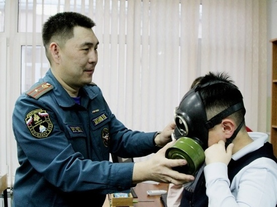 В школах Бурятии прошли открытые уроки ко Всемирному дню гражданской обороны