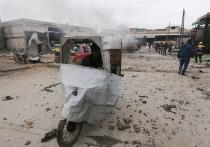 Турция обвинила Россию в гибели девяти мирных жителей в Сирии