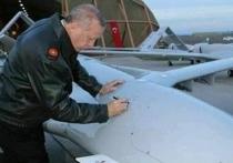 Сирия сбила турецкий беспилотник с автографом Эрдогана