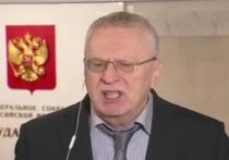 Жириновский предложил показательно расстрелять коронавирусных фейкометов