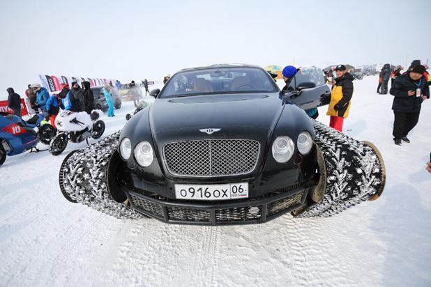 На Байкале прошел чемпионат самых отмороженных гонщиков