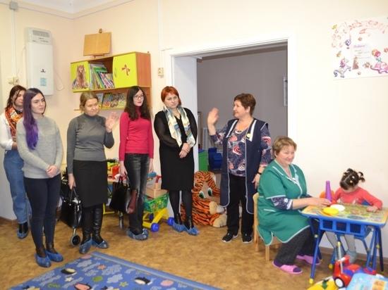 Будущие психиатры из РязГМУ посетили интернат для умственно отсталых детей