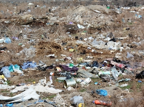 Большая несанкционированная свалка обнаружена в Дагестане
