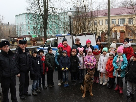 Серпуховские полицейские познакомили детей со своей профессией