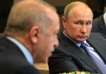 Президент Турции Реджеп Эрдган в четверг утром отправился с однодневным рабочим визитом в Россию