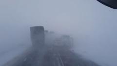 Нулевая видимость: непогода стала причиной ДТП в Ноябрьске
