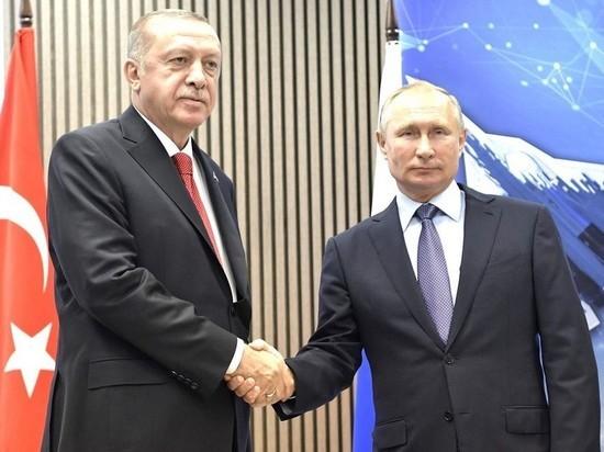 Песков: Путин и Эрдоган встретятся в Кремле