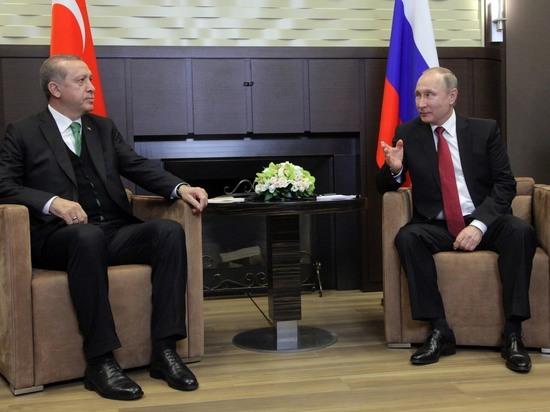 Путин разъяснил Эрдогану ситуацию с гибелью турецких военных в Сирии