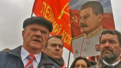 Зюганов призвал Путина стать Сталиным: видео
