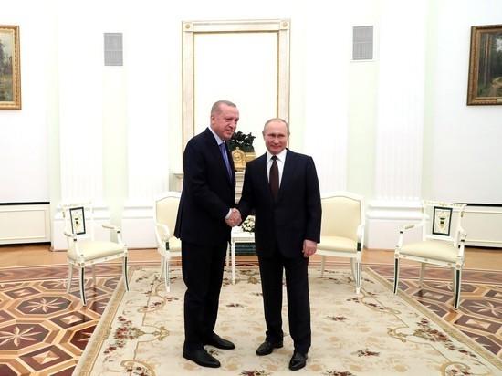 Путин принес Эрдогану соболезнования