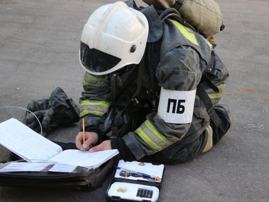 В Тульской области за сутки произошло пять пожаров