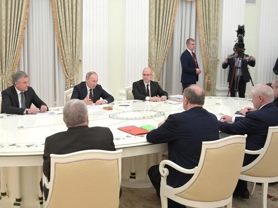 Путин осадил Жириновского