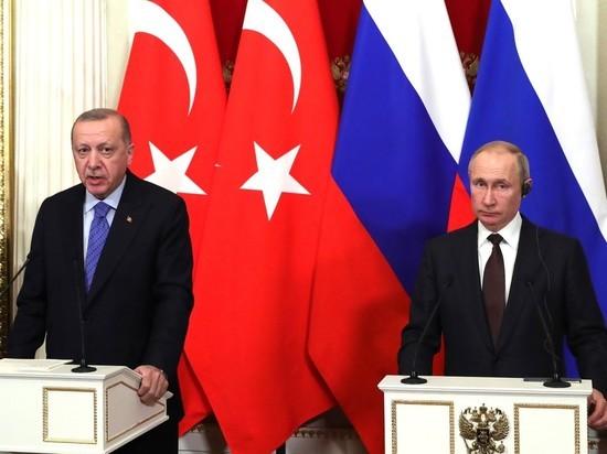 В Кремле турецкая делегация оказалась «под сенью» Екатерины Второй