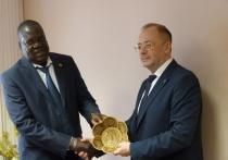 В Твери побывал посол Республики Уганда